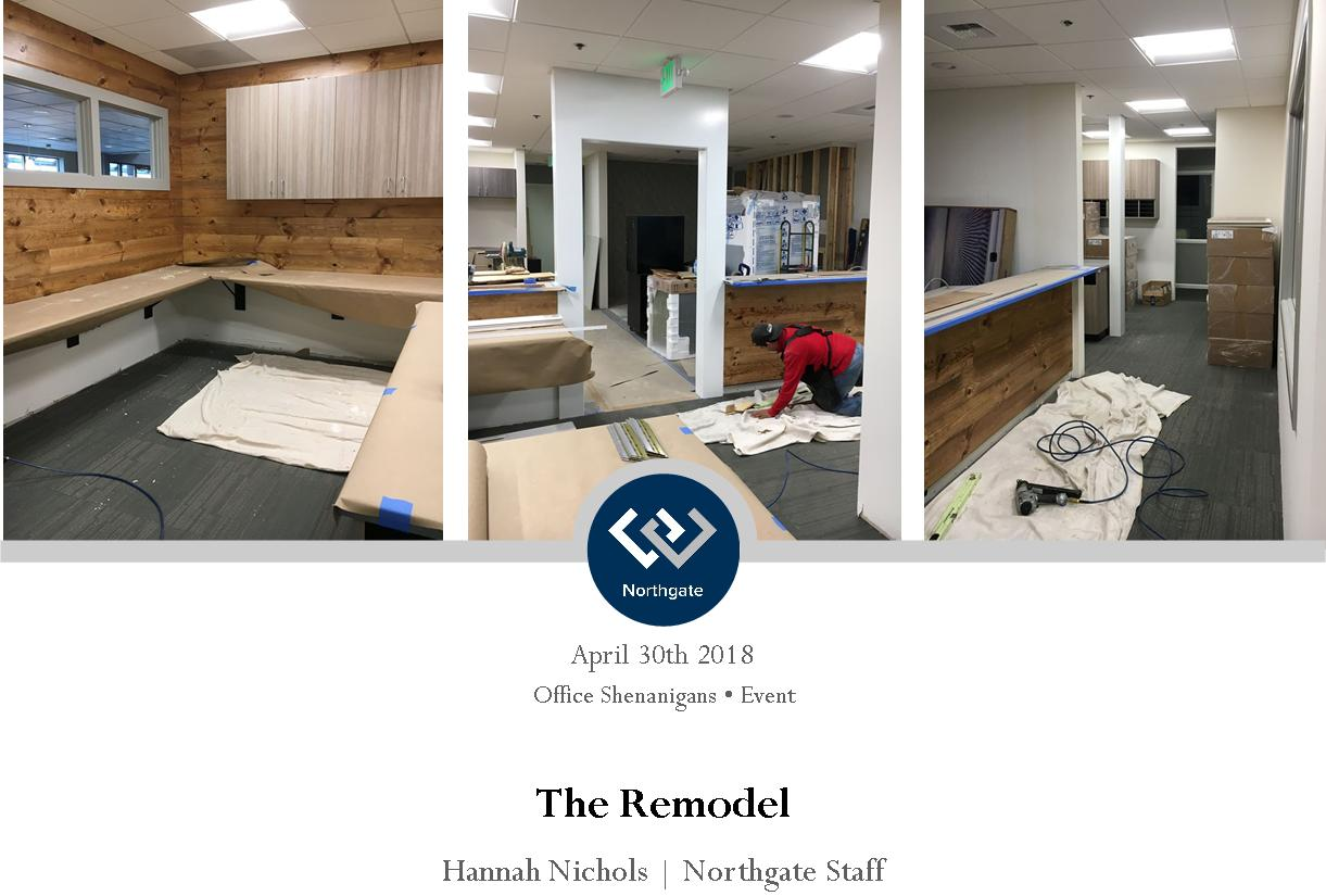 Northgate office remodel Header
