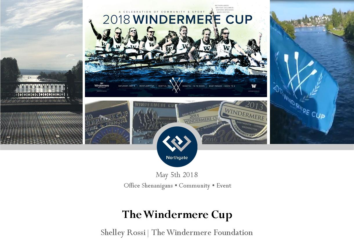 Collage of Images from Windermere Cup 2018