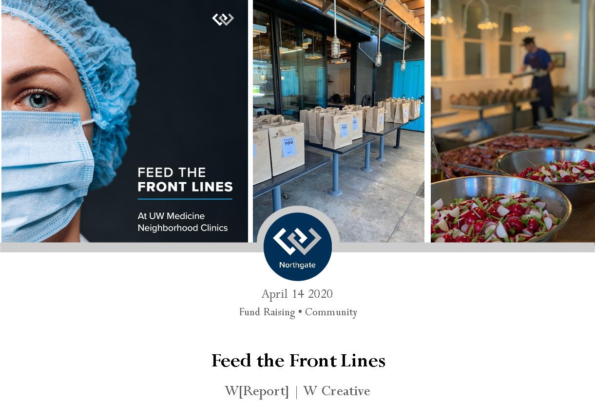 Feed the Front Lines Header
