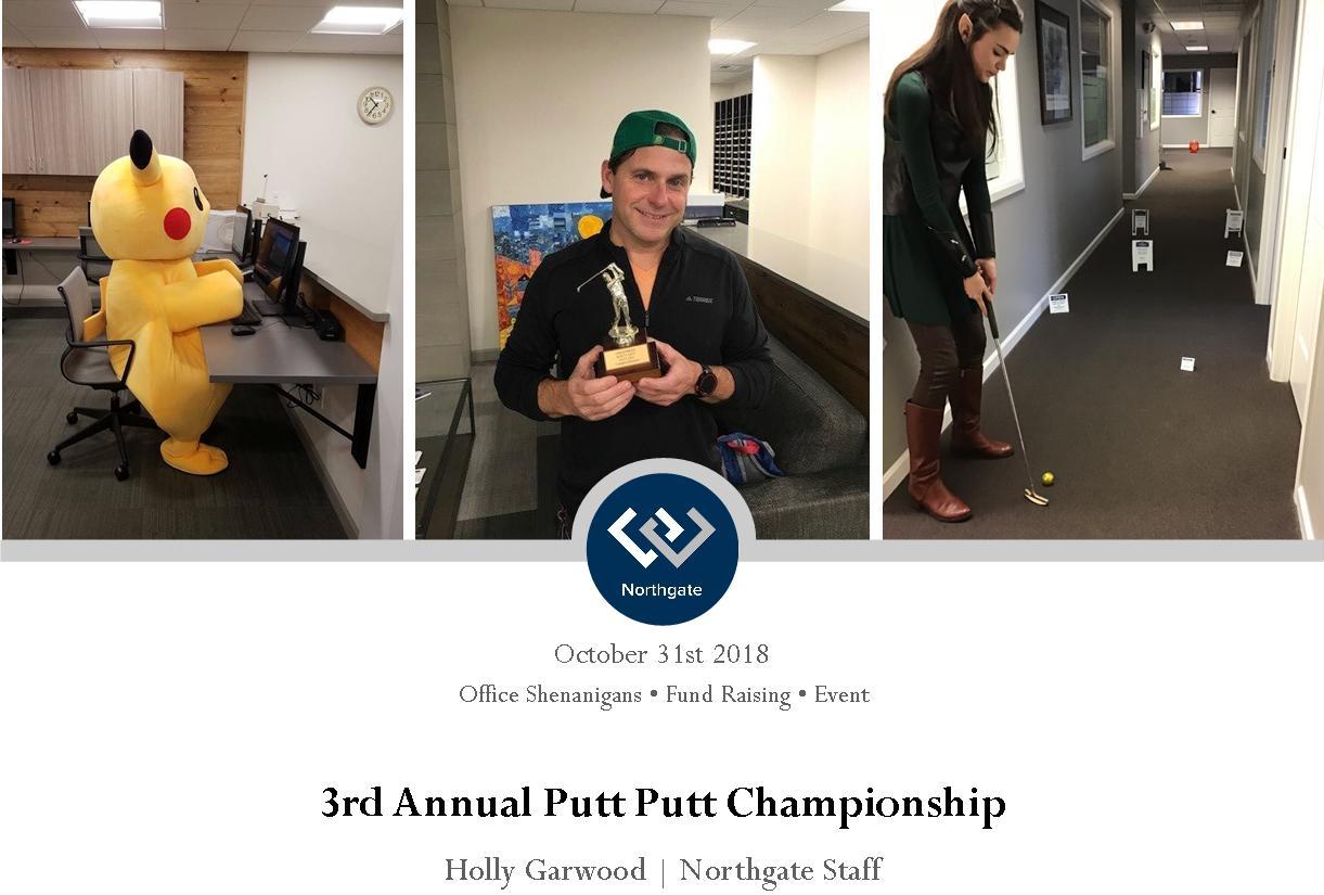 Northgate Putt Putt championship 2018 header